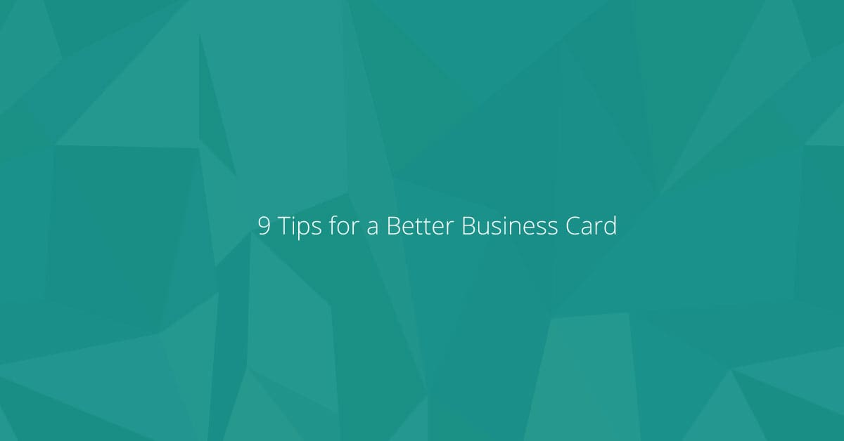 9-Tips-for-a-Better-Business-Card