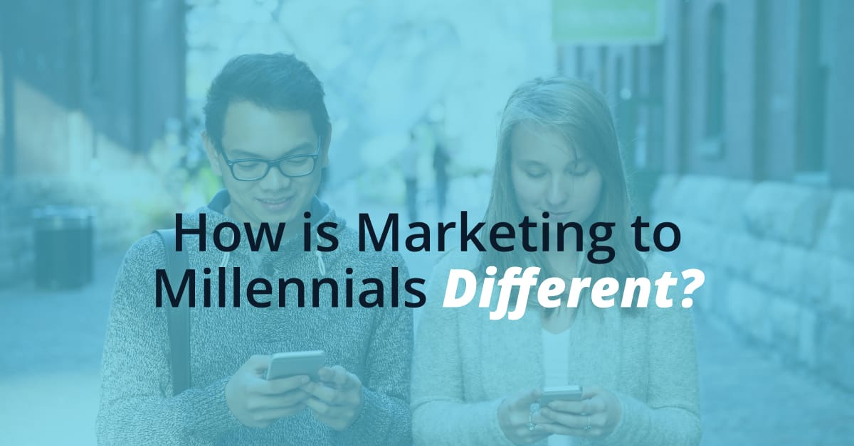 how is marketing to millennials different?